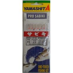 SABIKI YAMASHITA WYVK 600 ROSSO FLUO MIS. 10 - 8 - 6 - 4