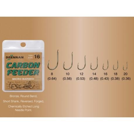 AMO DRENNAN CARBON FEEDER SIZE 20 - 18 - 16 - 14 - 12 - 10 - 8
