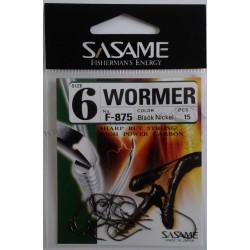 AMO SASAME F-875 WORMER BLACK SIZE 14 - 12 - 10 - 8 - 6 - 4 - 2