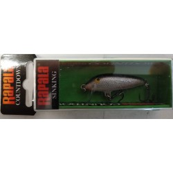ARTIFICIALE RAPALA COUNTDOWN CD03 3CM 4G SINKING S SILVER