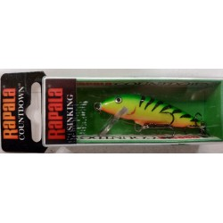 ARTIFICIALE RAPALA COUNTDOWN CD05 5CM 5G SINKING FT FIRETIGER TR BROWN TROUT