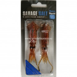 SAVAGE GEAR SALT 3D SWIM SQUID BROWN UV 95MM 10G
