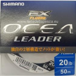 FILO DA PESCA SHIMANO FLUOROCARBON OCEA LEADER EX FLUORO 50MT 20LB