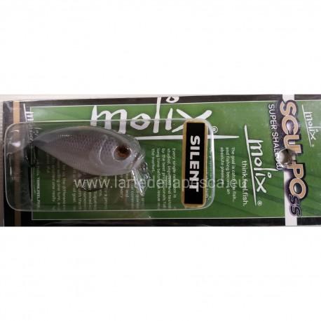 ARTIFICIALE MOLIX SCULPO SS SUPER SHALLOW SILENT 5,5CM 12,5G COL. PURPLE/ALBINO SHAD