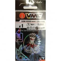 ASSIST HOOK VMC SLOW JIGGING ASSIST 7117AH SIZE 1
