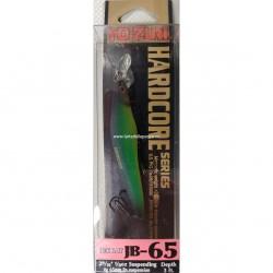 YO-ZURI HARDCORE JERK BAIT JB-65 65MM 4G SUSPENDING R814 NAR