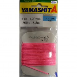 FILO ASSIST HOOK YAMASHITA LP PINK LINE SIZE 30 1.20MM 80LB