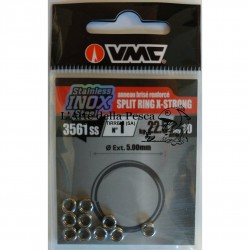 ANELLINI SPACCATI VMC 3561 STAINLESS X-STRONG SPLIT RING SIZE 1