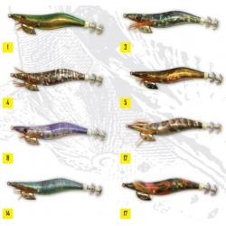 TOTANARA OLYMPUS SQUIDDY PRO JIG MIS. 3.0 COL. 4 - 5 - 12 - 8 - 3 - 1 - 37 - 38 - 32 - 34 - 17 - 30 - 23 - 35 - 18 - 14 - 29